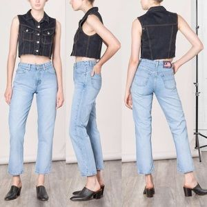 Vintage Ralph Lauren High Rise Mom Jeans